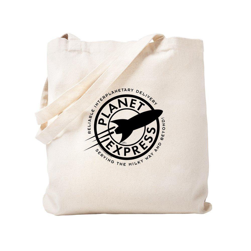 CafePress – Planet Expressロゴ – ナチュラルキャンバストートバッグ、布ショッピングバッグ S ベージュ 1557374447DECC2 B0784C4FYL S