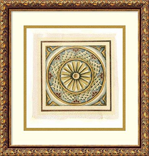 Crackled Cloisonne Tile - 3
