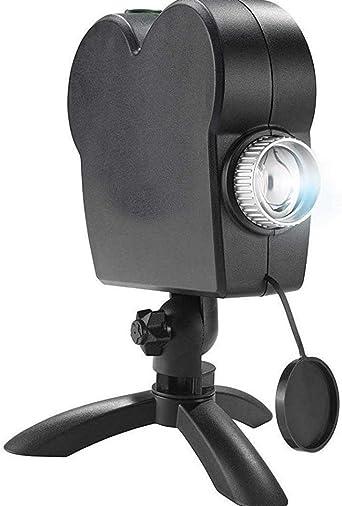 Lámpara LED de proyección brillante para Navidad, películas ...