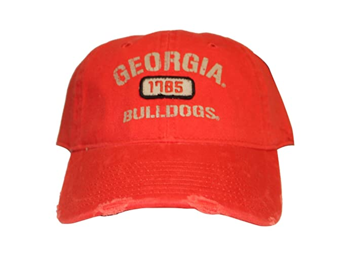 c5465def8d8 University Of Georgia Bulldogs Text Distress Buckle Back 3D ...