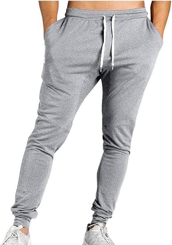 Pantalones de Gimnasia para Hombre Pantalón de chándal Deportivo ...