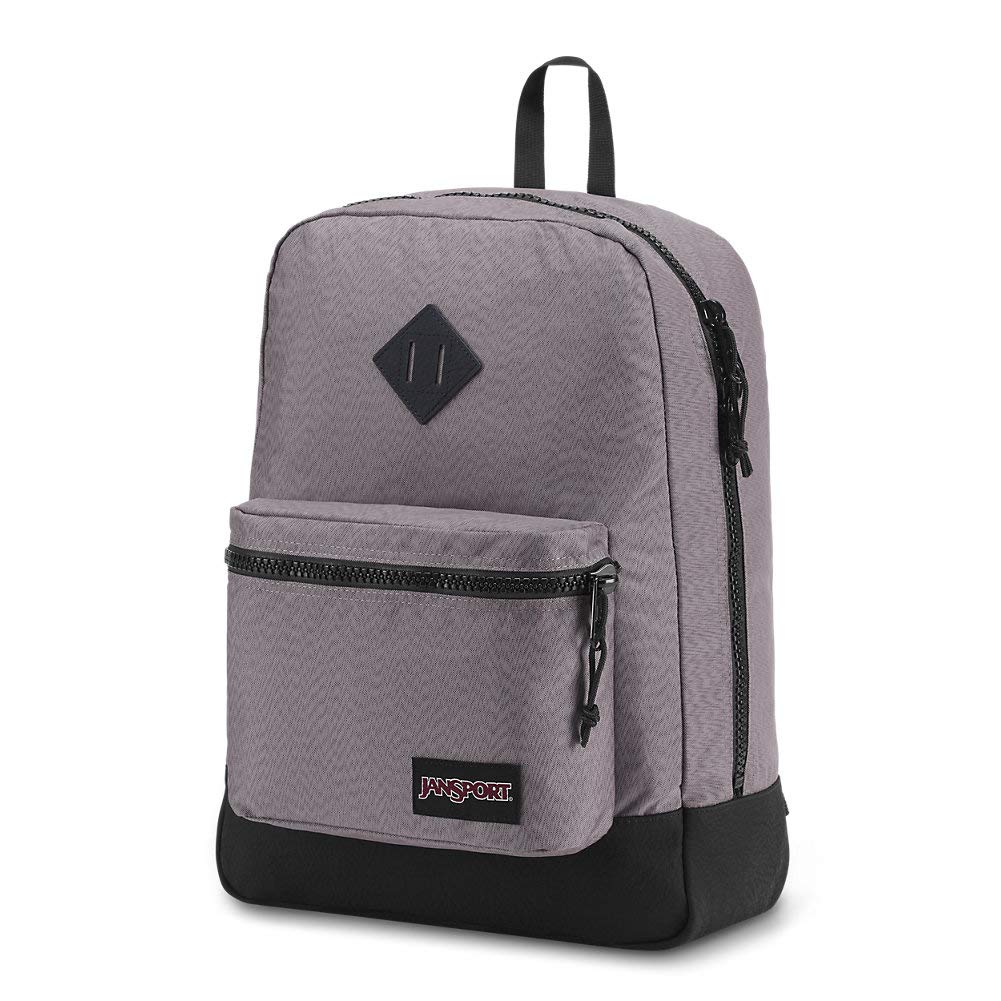 Amazon.com | JanSport Super FX Backpack - Grey Optical Zig Zag | Casual Daypacks