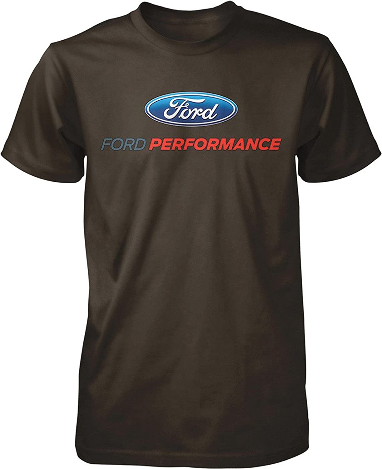 Ford Performance T-Shirt Mustang GT ST Racing (Front Print)