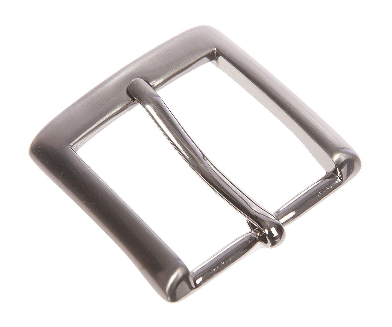MONIQUE Men Classic Square Single Prong 33mm Wide Belt Replacement Buckle