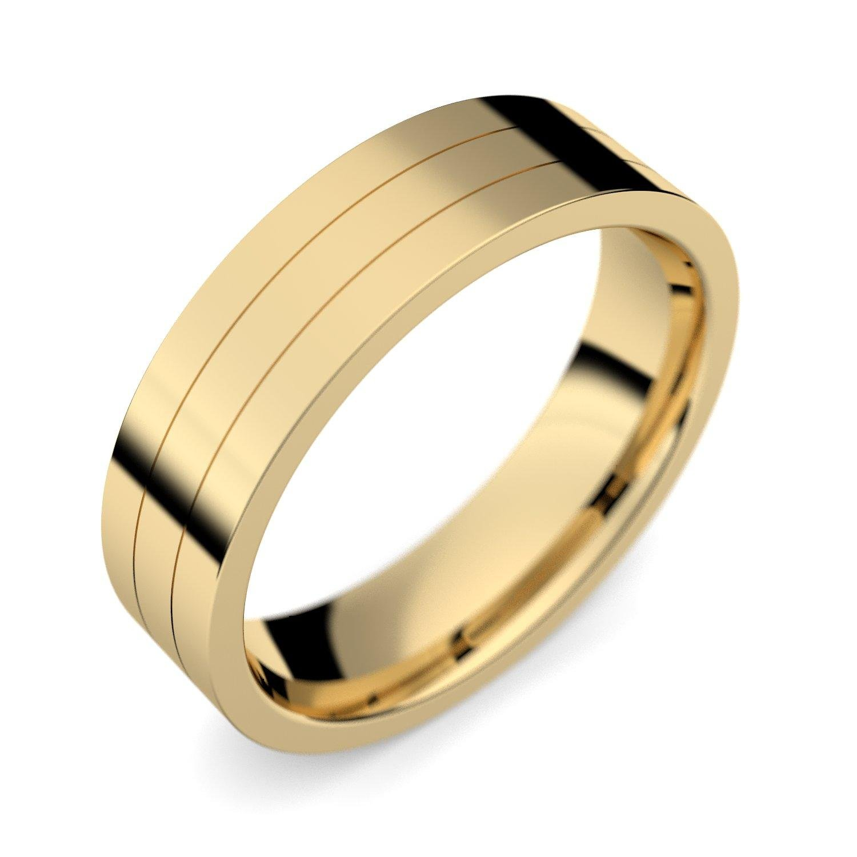 Trauring einzeln Herren Mann Gold Ehering Trauring 585 inkl