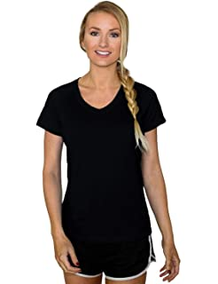 b5330ba2839c4 Woolx Mia Tee - Merino Wool T-Shirt For Women - Lightweight - Wicks Moisture