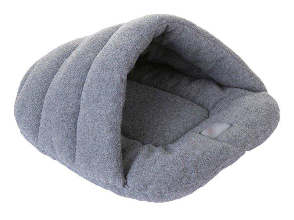 YiJee Caliente Saco de Dormir Perro Suave Acogedor Bolsas Cama Perrera para
