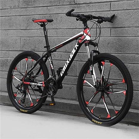 WJSW Bicicleta de montaña para Hombre, Marco de Acero de Alto ...