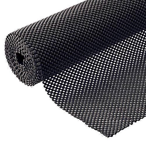Grip Liner Non-Adhesive Shelf Liner, Anti-Slip Mat Drawer Liner 12 in. x 20 ft. (Black)