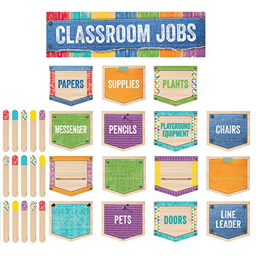 Creative Teaching Press Upcycle Style Classroom Jobs Mini