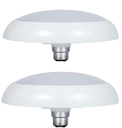 Philips Deco Ring 14 Watt Led Bulb Base B22 Cool Day Light Pack Of 2