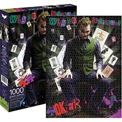Aquarius DC Comics- Heath Ledger Joker 1,000Pc Puzzle by Aquarius