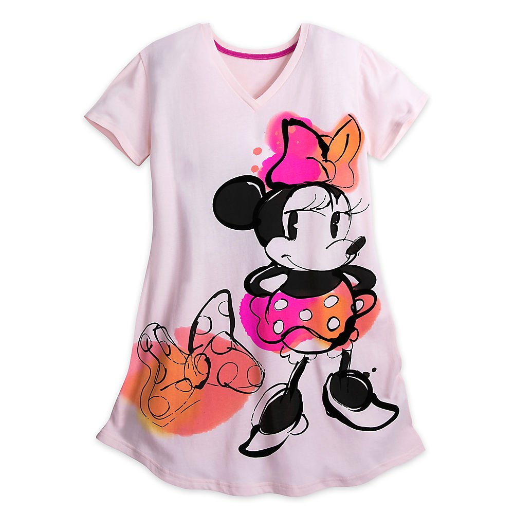 Disney Minnie Mouse Nightshirt for Adults Size XS/S