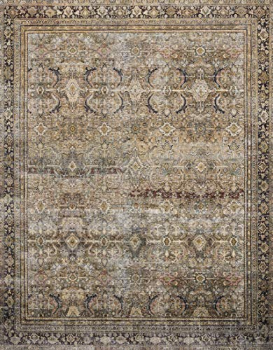 (Loloi ll  LAY-03 Layla Collection Printed Vintage Persian Area Rug 9'0