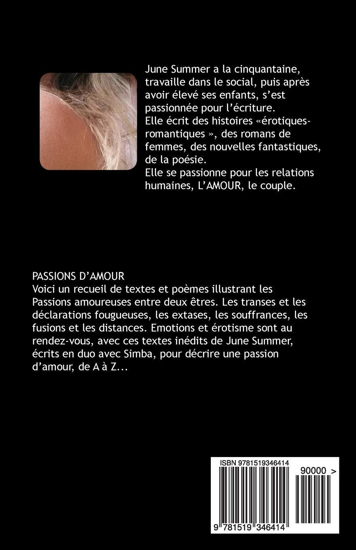 Passions Damour Amazones June Summer Libros En Idiomas