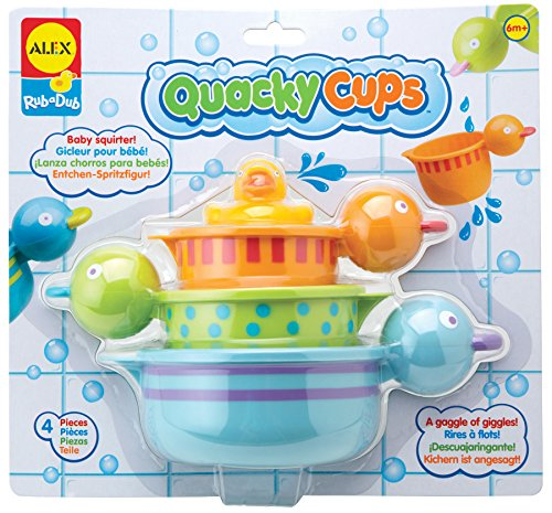 Explorer Bath Squirters (ALEX Toys Rub a Dub Quacky Cups)
