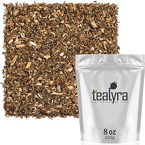 Tealyra - 911 Detox - Dandelion Root - Ginger - Peppermint - Digestive Tea - Immune System Booster - Herbal Loose Leaf Tea Blend - Caffeine-Free - All Natural - 220g (8-ounce)