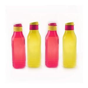 Tupperware Triangular 750ml Bottle 4pc