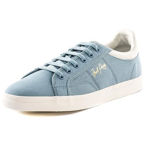 Zapatilla Fred Perry hombre Sidespin canvas sub blue: Amazon.es: Zapatos y complementos