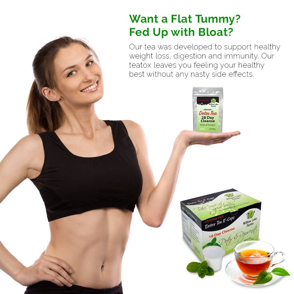Amazon.com: Willow Lake Farms 10 Day Mint Detox Tea Cleanse K-cups  Decaffeinated ...: Health & Personal Care