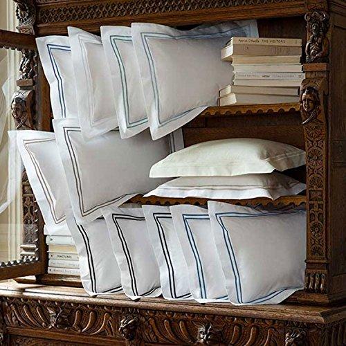 Grande Hotel by Sferra - Full/Queen Duvet Cover 88x92 (White/Navy)