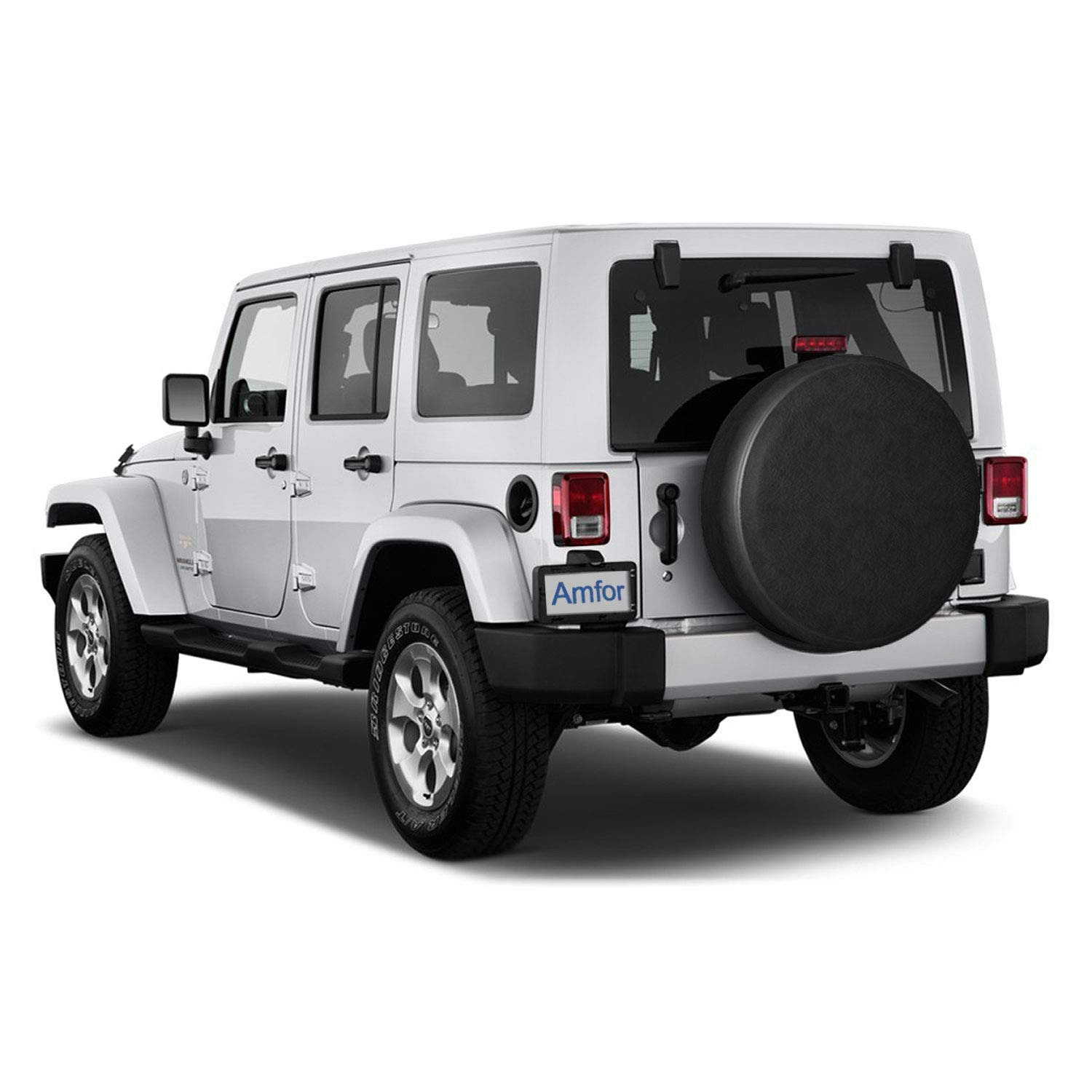 Universal Fit for Jeep Wheel Diameter 28-29 Trailer Truck and Many Vehicle RV SUV Spare Tire Cover Weatherproof Tire Protectors 15 inch for Tire /Φ 28-29, White Wheel Diameter 28-29 FDINF
