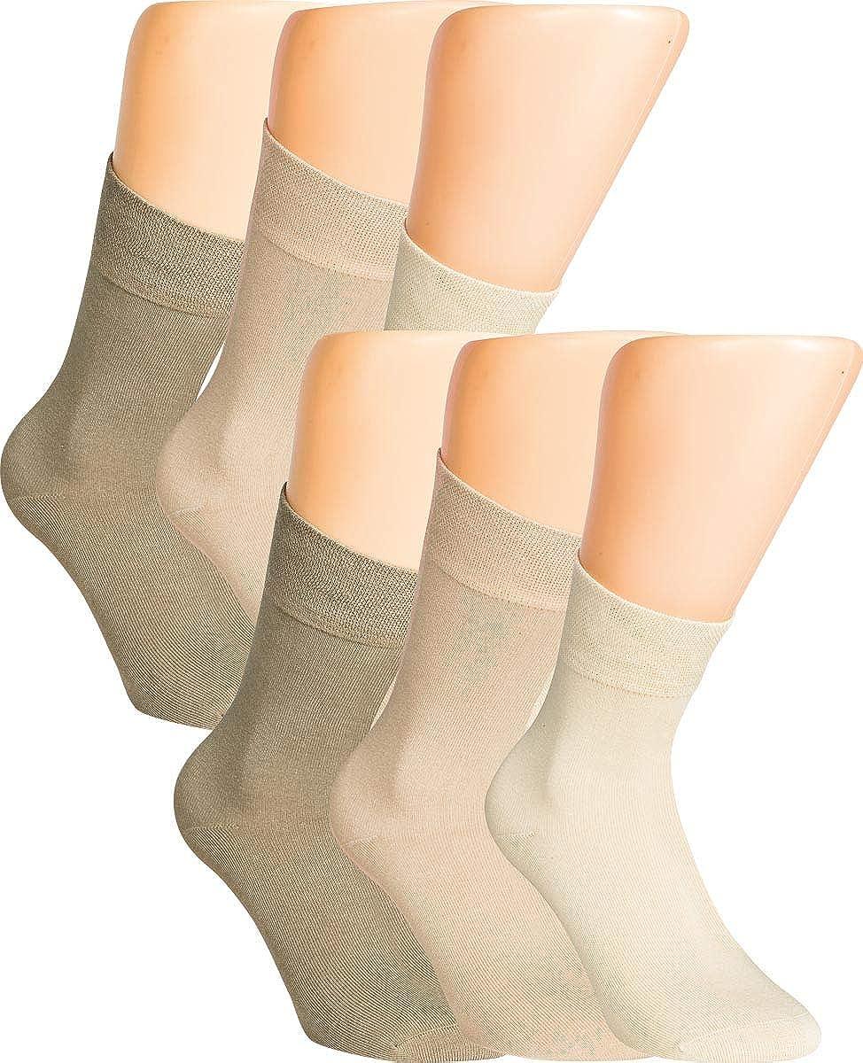 VITASOX calzini bamb/ù da donna e da uomo senza gomma pacco da 6 o da 12