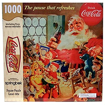 Coca Cola The Pause That Refreshes 1000 Piece Puzzle By Springbok