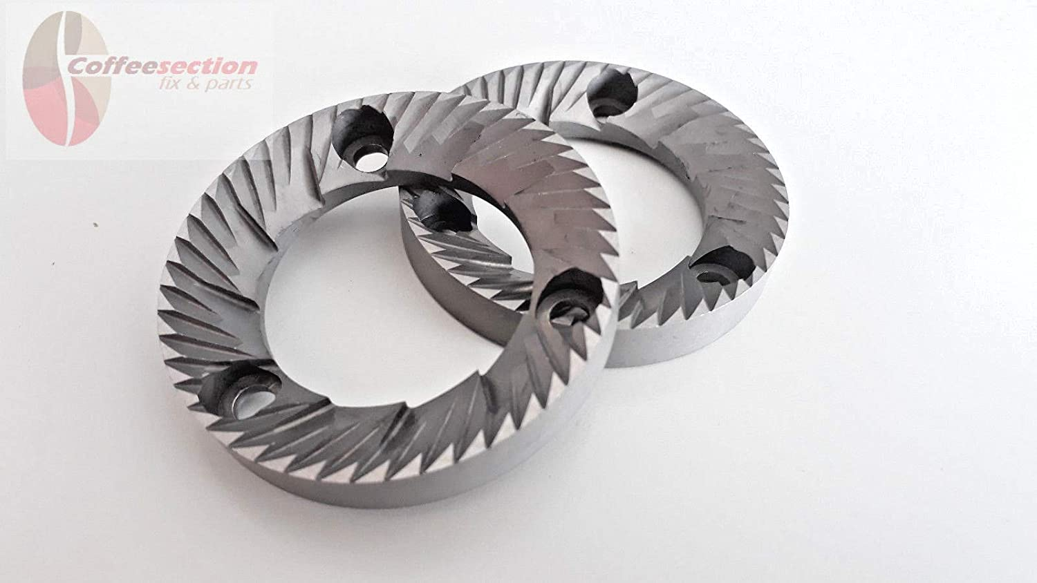 Rancilio Rocky / MD40 Grinder burrs - 50 mm/31 mm/8 mm - LH, SX - Italy