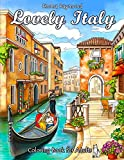 Lovely Italy Coloring Book for Adults