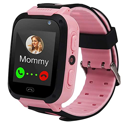 Niños Smart Watch GPS Tracker Mejores Regalos de cumpleaños Cámara con Pantalla táctil SOS Podómetro Fitness