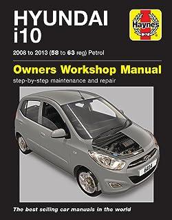 hyundai i10 owners handbook 2007 2010 i 10 1 1 1 2 litre rh amazon co uk hyundai i10 manuel gear hyundai i10 user manual pdf download