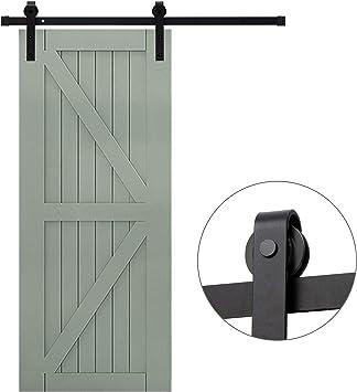 Fittyz 6FT 183cm Herraje para Puertas Correderas Kit para Puerta ...