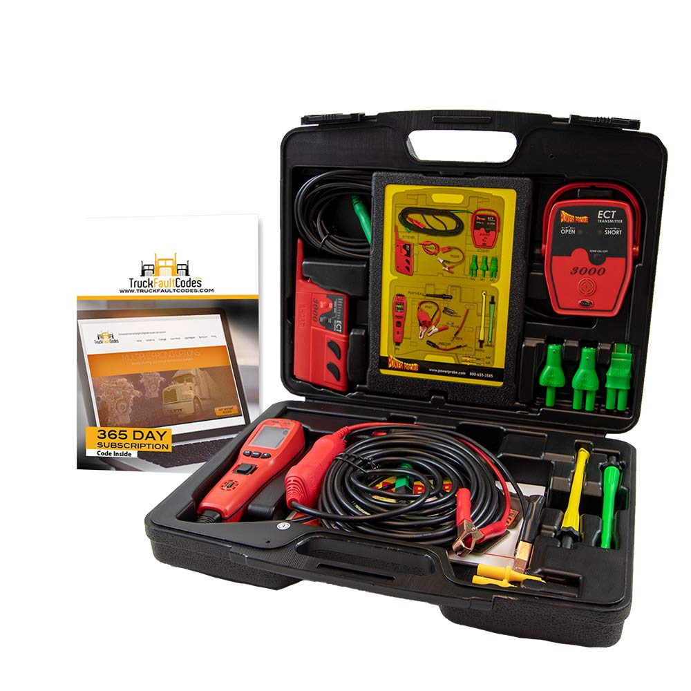 Diesel Laptops Power Probe IV Master Combo Kit Bundled with 12-Months of Truck Fault Codes by Diesel Laptops (Image #2)