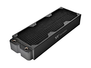 Thermaltake Pacific DIY Liquid Cooling System CL420 64mm Thick Copper Radiator CL-W193-CU00BL-A