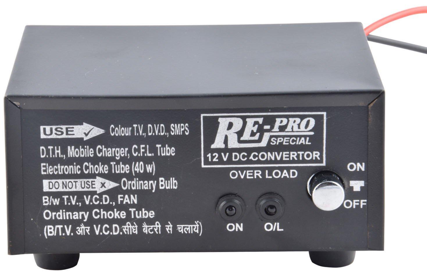 Re PRO 12V DC to 220V AC Converter Mini Invertor