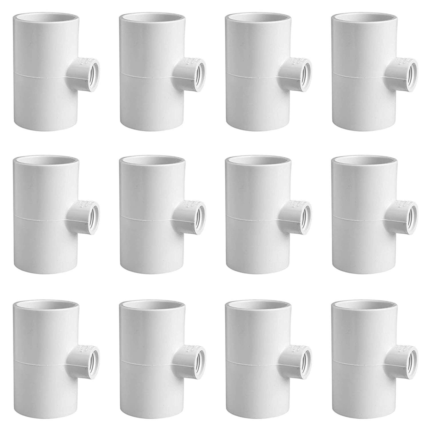 """12 AUTOMATIC WATERER DRINKER NIPPLES /& 1//2/"""" PVC FITTINGS CHICKEN POULTRY COOP"""