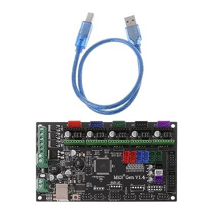 jenor Impresora 3D MKS Gen v1.4 Mega 2560 R3 Placa Base Reprap ...