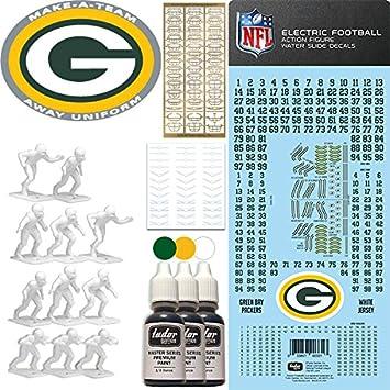 brand new 44c56 5c2f8 Amazon.com: NFL Green Bay Packers NFL Away Uniform Make-A ...