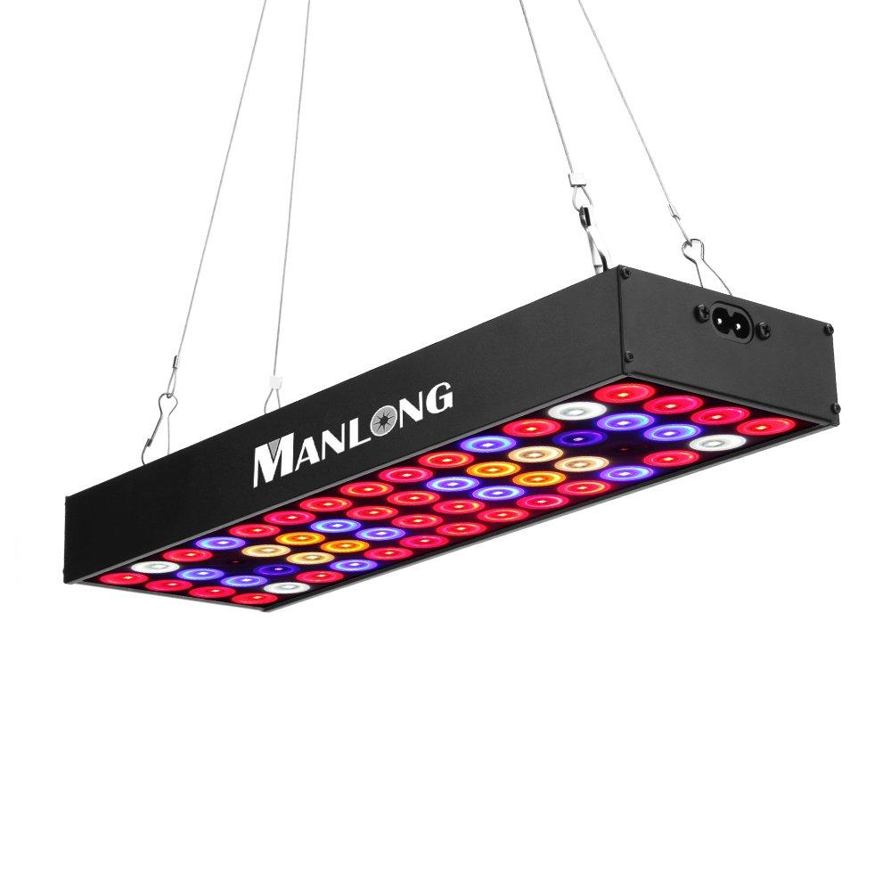 Led Grow Light, ManLong Full Spectrum 36W Plant Lighting Fixtures ...