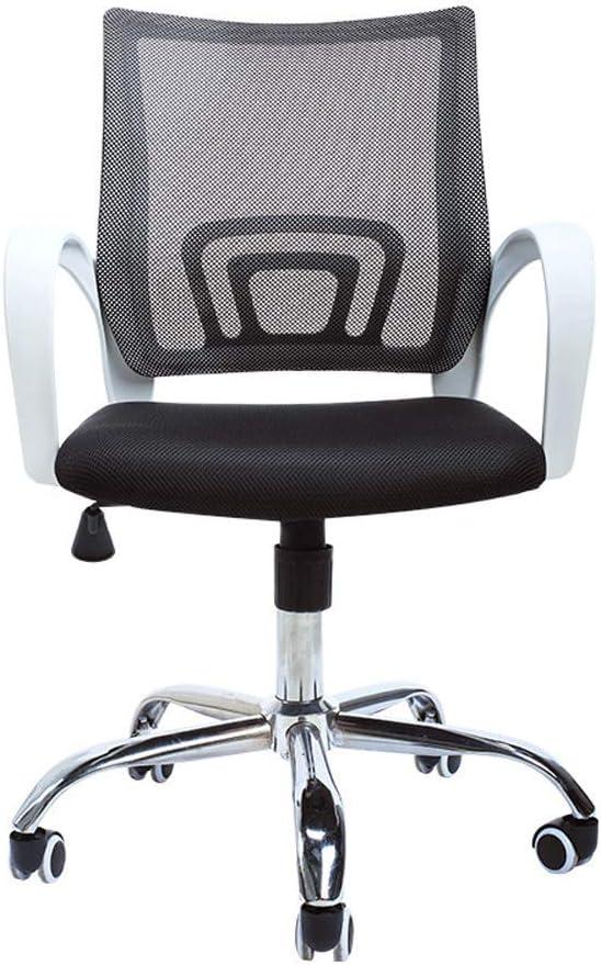 Silla de oficina para personal de oficina, silla giratoria de malla con arco silla para sala de conferencias silla giratoria para computadora