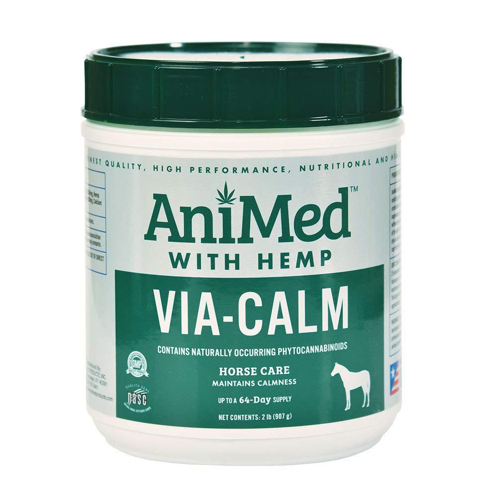 AniMed Via Calm w/Hemp 2LB by AniMed