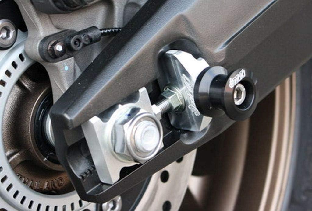 GSG-Moto Heckst/änderaufnahmen passend f/ür die Honda CB 650 R RH02 ab 2019 Schwarz eloxiert
