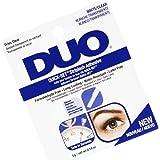 DUO Quick-Set Clear False Strip Lash Adhesive, Dries Invisible 0.18 oz