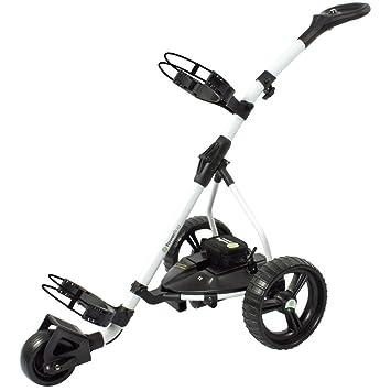 Powerbug GT Batería de litio para carrito de Golf, blanco: Amazon.es: Deportes y aire libre