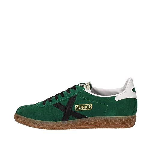 Munich 8290011 Sneakers Uomo Verde 36    Scarpe e borse 022e6581f23