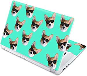 """MightySkins Skin Compatible with Acer Chromebook 15 15.6"""" (2017) - Cool Corgi 