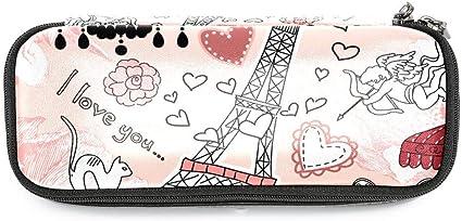 Tizorax Trousse /à crayons Motif Paris Tour Eiffel