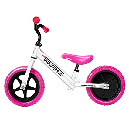 4c971b44d96 HAPTOO Toddler Bike No Pedal Kids Glide Balance Bike [Ages 1.5 2 3 4 5