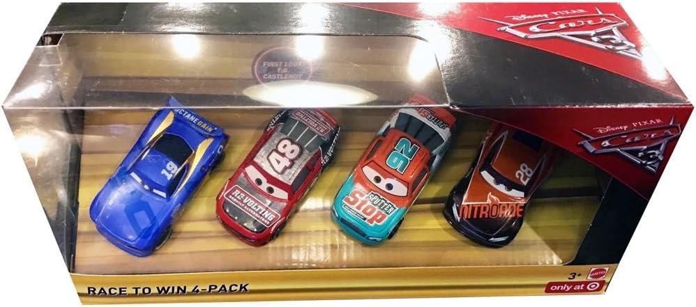 Disney Pixar Cars 3 - Race to Win 4 pack: Amazon.es: Juguetes y juegos